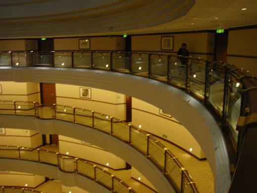 グランドハイアット上海の外廊下