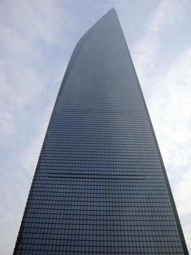 パークハイアット上海の入る101階上海環球金融中心(ワールドフィナンシャル)