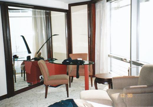 グランドハイアット上海の客室内部