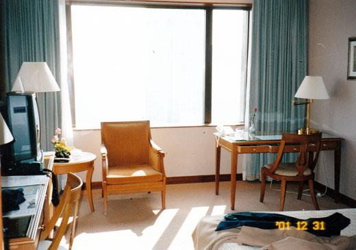 ガーデンホテル(花園飯店)の部屋