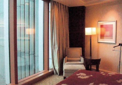 浦東シャングリラ上海新館グランドタワーの部屋