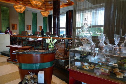 セントレジス上海のカフェー