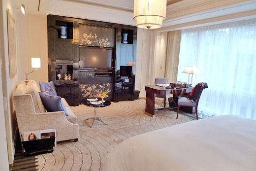 ザ・ペニンシュラ上海の部屋内部