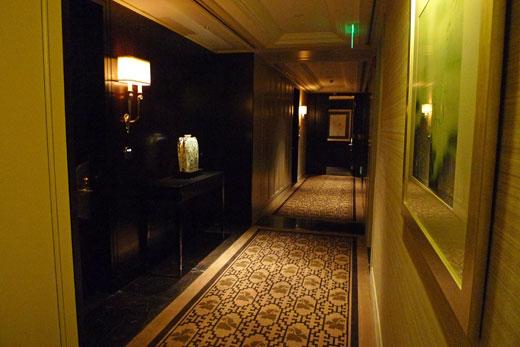 ザ・ペニンシュラ上海の廊下