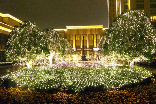 ザ・ペニンシュラ上海のライティング