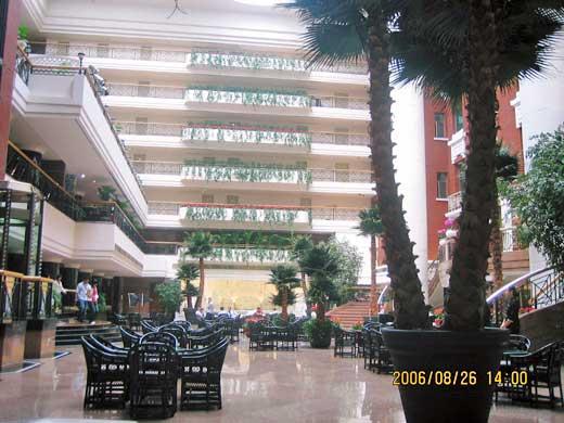 グランドホテル北京のラウンジ