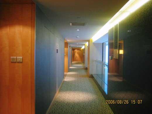 インターコンチネンタル フィナンシャルストリート北京の廊下