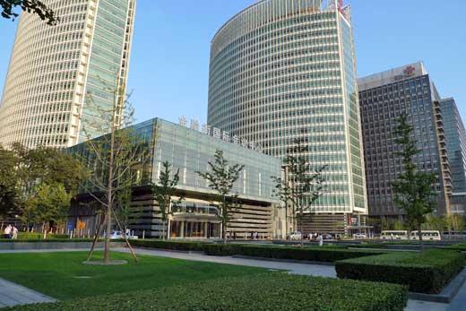 金融街中心の風景