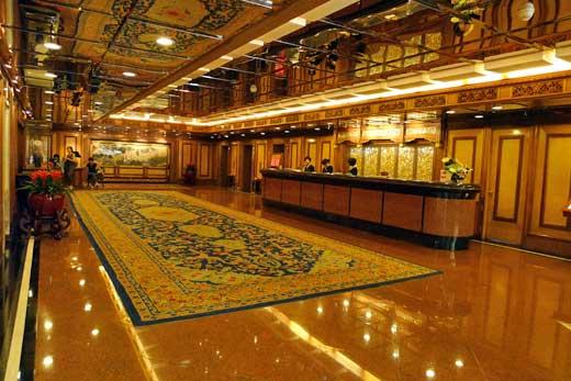 グランドホテル北京のレセプション