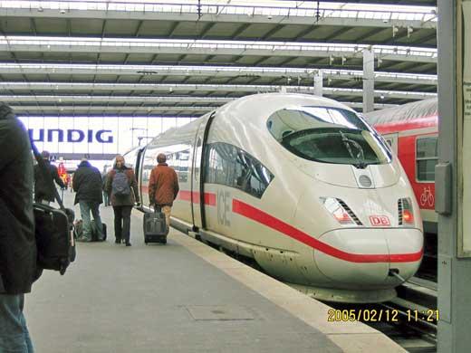 DB・ドイツ鉄道が誇るICE