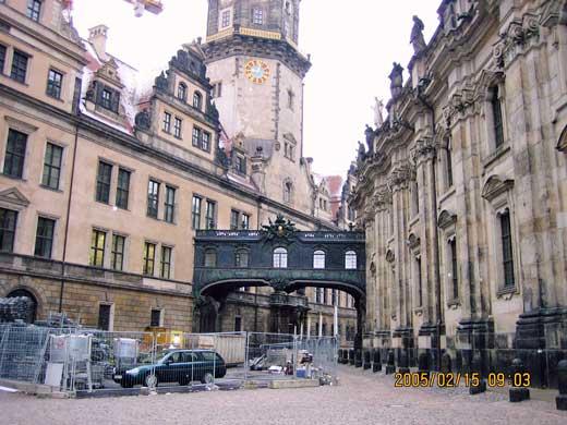 見事な旧市街の風景