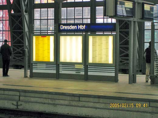 2005年当時のドレスデン駅