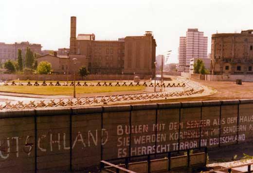 1974年時のポツダム広場