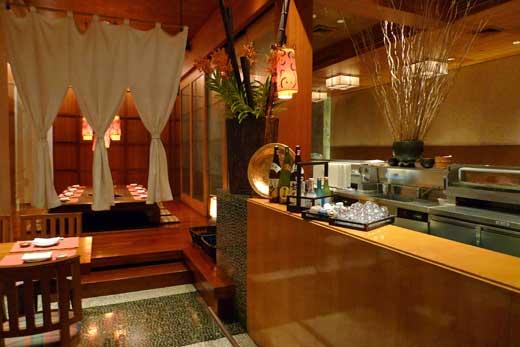 フォーシーズンズ・バンコク 日本料理の「シンタロウ」