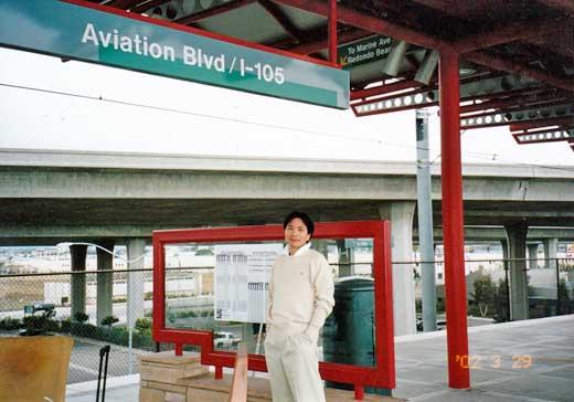 グリーン・ラインの空港駅