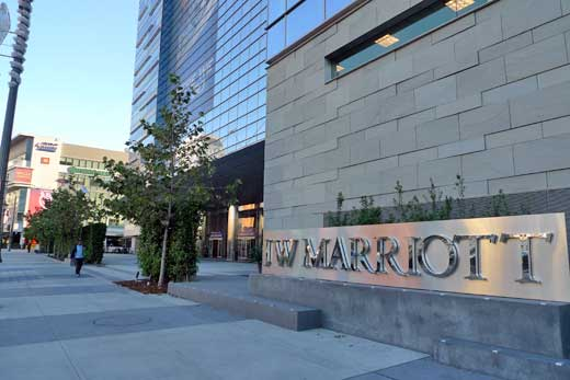 Jw marriott los angeles for Cat hotels los angeles
