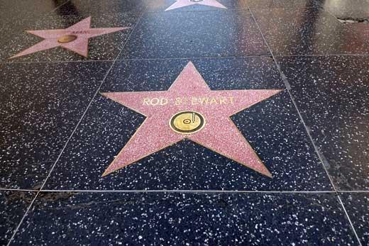 ロッド・スチュワートの星形