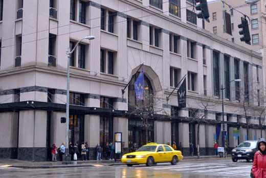 Wホテル、シアトル