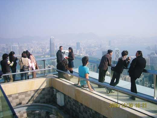 香港 街の様子