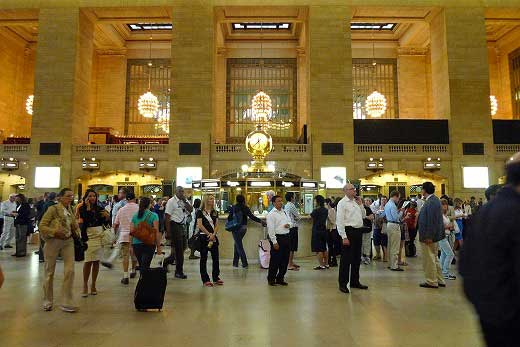 アムトラックと3つの総合ターミナル駅