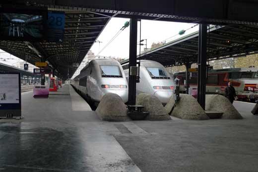 TGV & SNCF、フランス国鉄