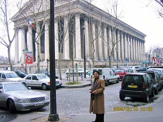 パリ-街の様子