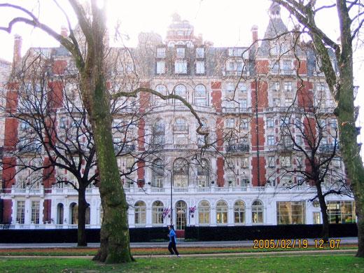 マンダリン・オリエンタル・ハイドパーク、ロンドン